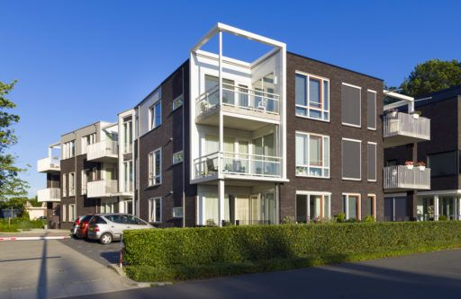 3N30 Appartementengebouw Theaterplein Barneveld Woningbouwvereniging Levensloopbestendig Senioren